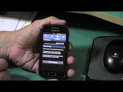 Task Manager Function in Samsung ACE 2