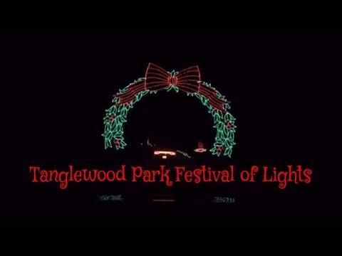Tanglewood Festival of Lights - Christmas Light Show - Tanglewood Park