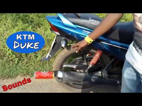 Dio Sound Like KTM Duke| Homemade Exhaust Sound | Duke Sound