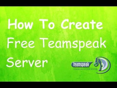 How to Create Free Teamspeak Server 2016