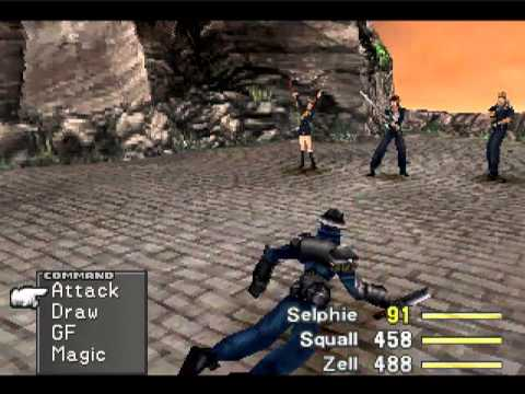 Final Fantasy 8 - Dummied - Limit Break - Selphie : Catastrophe