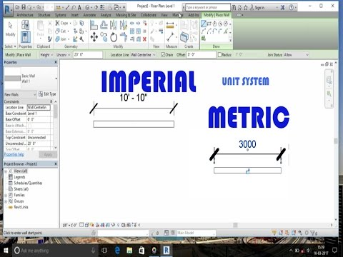 Metric and Imperial system in Autodesk Revit, Civil3D, 3D Max etc,