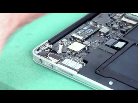 How to replace the WiFi Card on a Macbook Air (A1466 -2013/14) - MacOutlet Tutorial