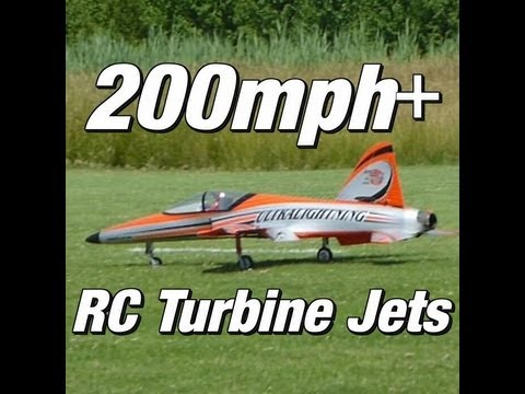 200mph+ RC Turbine Jets - Fly it like you stole it!!!