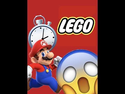 WORLDS BEST LEGO MARIO SPEED BUILD!!!!