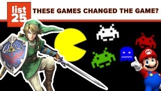 25 Best Video Games That Changed Everything