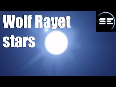 Wolf Rayet Stars in Space Engine
