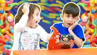 سوبر سمعة وفرح والحيّة العملاقة - super somaa and farah and the giant worm