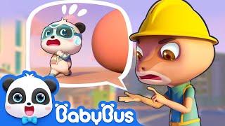 Watch out! Super Panda Kiki   Super Panda Rescue Team   Magical Chinese Characters   BabyBus Cartoon