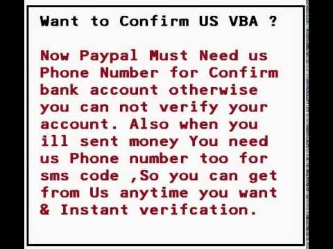How to get us Phone Number us Paypal & Craiglist Post