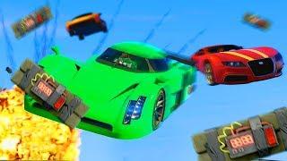 GTA 5 STICKY BOMB WAR!
