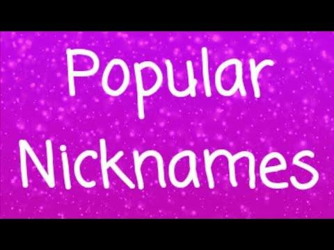 Popular Nicknames for Boys Girls at work
