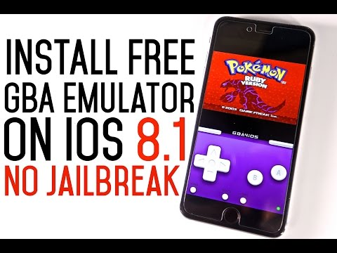 How To Install GBA Emulator & Games FREE on iOS 8.1 & 8.1.1 Without Jailbreak! iOS 8 - 7