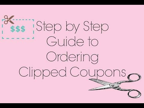 Step by Step Guide to Ordering Clipped Coupons