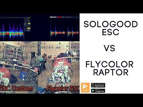 MUST SEE!!  Sologood ESC Noise Testing vs Flycolor Raptor