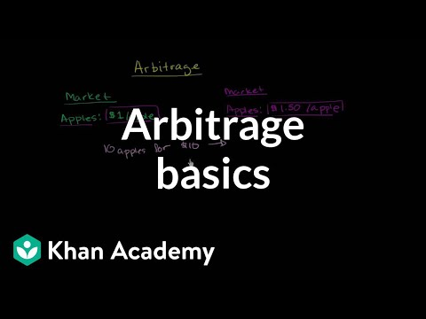 Arbitrage basics | Finance & Capital Markets | Khan Academy