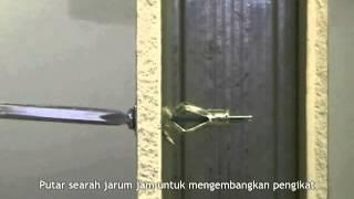 Cara Pemasangan Paku Penggantung Pada Dinding Gipsum