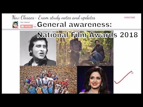 General awareness: National Film Awards 2018 #Vinod Khanna, #Sridevi