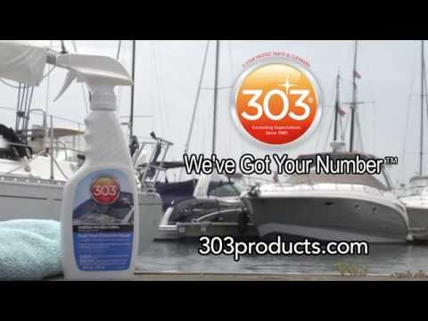 Product Specialist Ashley Strubel Introduces 303® Marine Clear Vinyl Protective Cleaner