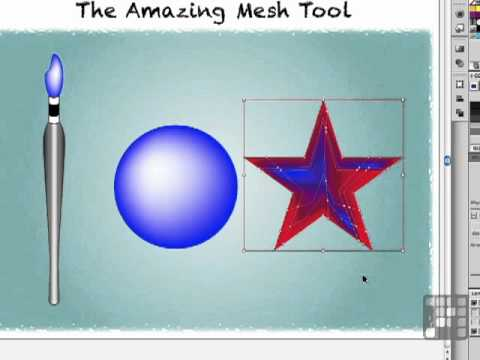 Illustrator's Amazing Mesh Tool - Illustrator CS5 Tutorial