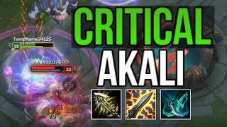 CRITICAL AKALI IS BEYOND DEADLY (AKALI BUILD CHALLENGE) | League of Legends