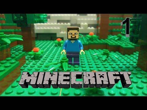 LEGO MINECRAFT Stop Motion Survival Part 1