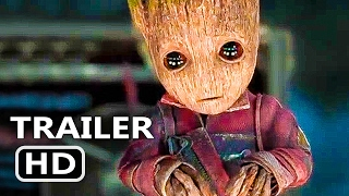 GUARDIANS OF THE GALAXY 2 Official Baby Groot TV Spot (2017) Superhero Movie HD