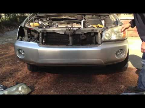 2005 Highlander Headlight Assembly Replacement