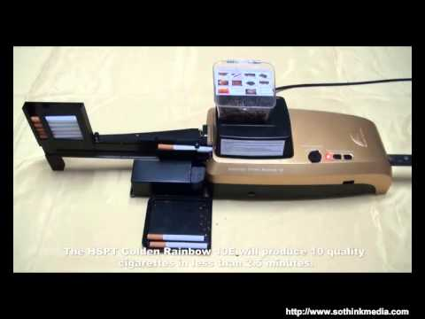 HSPT Golden Rainbow Automatic Cigarette Rolling Machine Fastest Cigarette Roller on the market