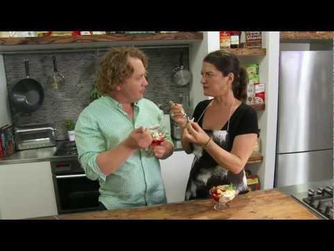 Ricotta and Raspberry Parfait - Video Recipe using Ricemilk