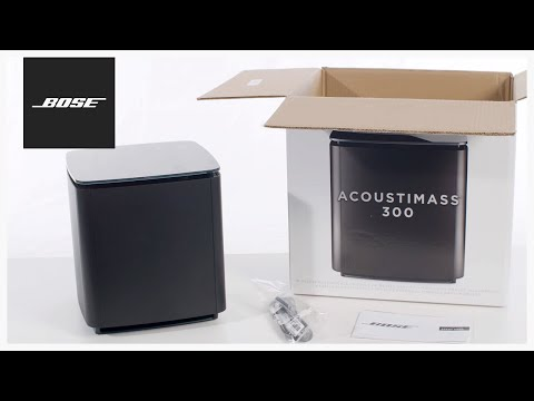 Bose Acoustimass 300 – Unboxing + Setup