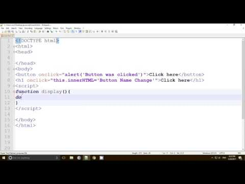 onclick event in JavaScript