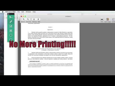 How to Quickly Fill and Sign any PDF Agreement or Form on OS X