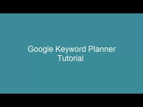 Google Adwords Keyword Planner Tutorial-Learn How to do Keyword Research