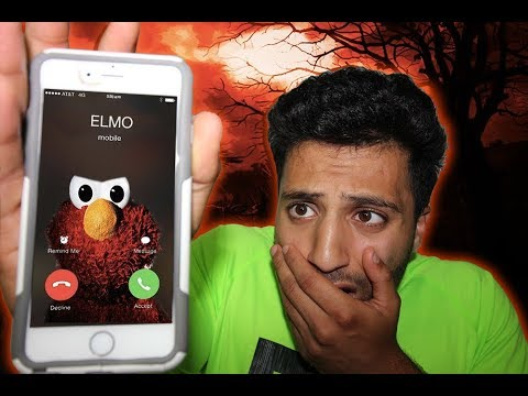 3AM CHALLENGE ✯  DONT CALL ELMO ON FACETIME| ELMO CALLED ME BACK AND BROUGHT CHUCKY WITH HIM