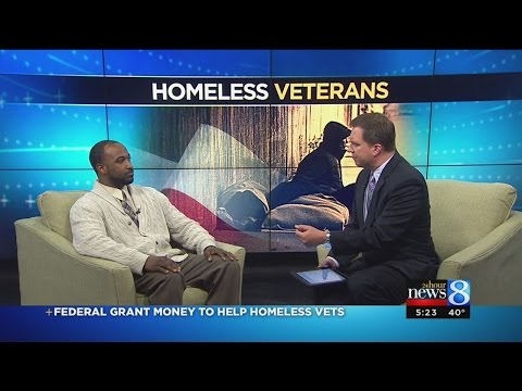 Federal grant money to help homeless vets