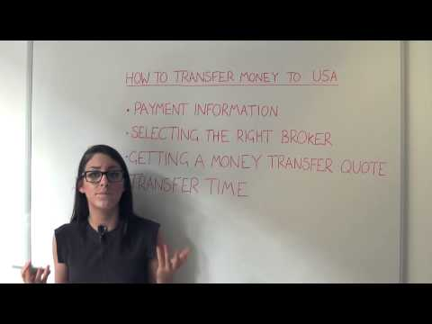 Guide On Sending Money To The USA