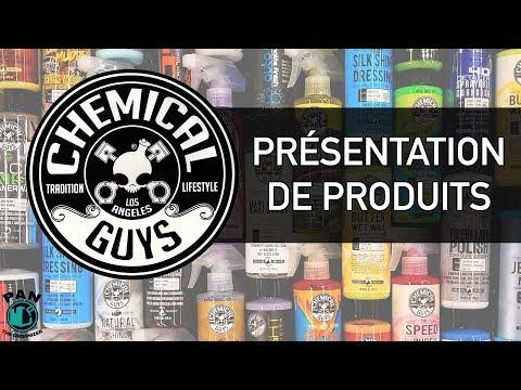 Produits Chemical Guys pour le lavage de voitures !!