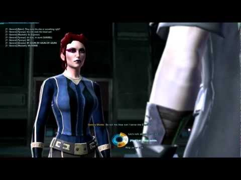 SWTOR- Imperial Agent (first time possible to get laid)