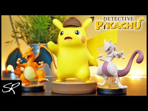 Detective Pikachu amiibo Review & Size Comparison | This Thing is HUGE