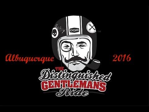 Albuquerque's Distinguished Gentleman's Ride 2016