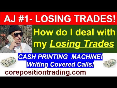 Ask John! #1 - How do I deal with my LOSING Covered Call trades