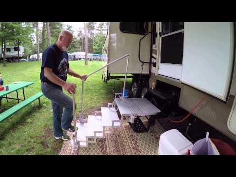RV-CO Portable Steps. Hero4