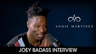 Rare Moment - Joey Bada$$ Gets Emotional  While Discussing the Death of Capital Steez & Junior