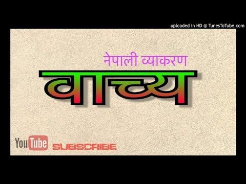 नेपाली व्याकरण वाच्य / nepali grammar voice