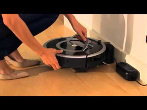 iRobot Roomba 700 series-Battery charging and storing