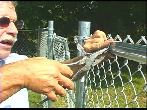 How to use self-locking fence bands
