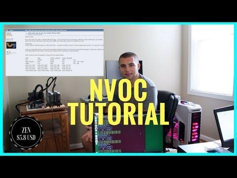 How To Setup nvOC - Custom Linux OS for Nvidia GPU Mining Rigs