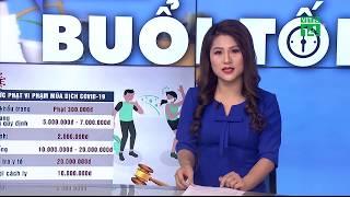 Hà Nội quy định mức xử phạt người vi phạm trong mùa dịch Covid-19 | VTC14