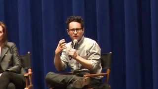 "J.J. Abrams on George Lucas and ""The Force"""